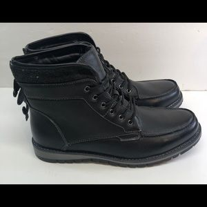 Rue 21 Carbon Elements Men's Size 10 Lace Up Boot